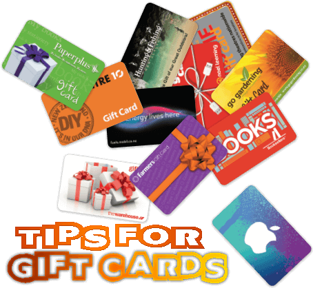 tips for choosing gift cards for holidays